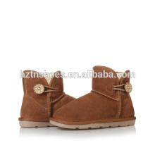 Теплые детские ботинки с ботинками для девочек