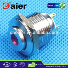 Daier GQ16H-10D Interruptor De Botão De Metal