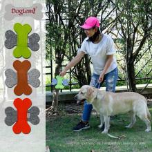 Agility Haustier Produkt Großhandel Natur Filz Frisbee Hund Spielzeug