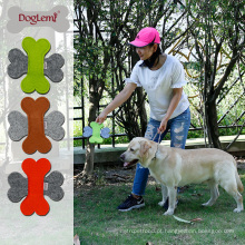 Agility pet product atacado natureza sentiu frisbee dog toy