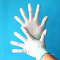 Inspection Precision Work Kohlefaser Liner ESD Top Fit Finger PU Safe Handschuhe
