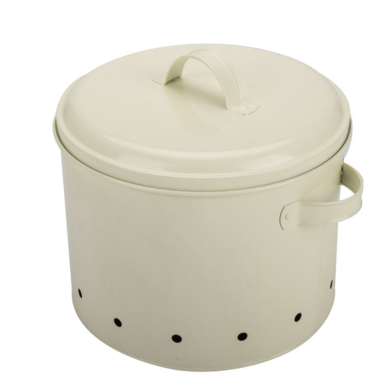Round Shape Vegetable Canister