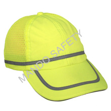 Safety Cap with Reflective Piping