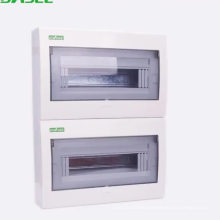 types of electrical circuit breaker 4way ~ 42 way Plastic electrical ip65 distribution box