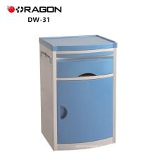 DW-31-A Cabinet moderne de haute qualité de chevet d'acier inoxydable d'hôpital avec le tiroir