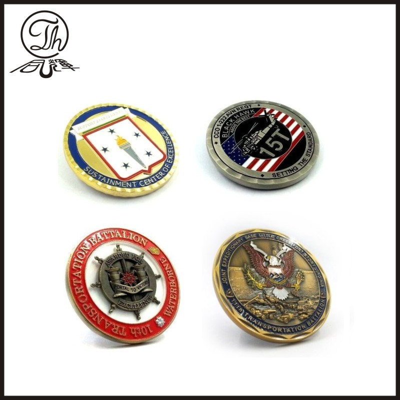 Hot sale different custom coin designs
