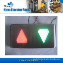 Cheap Hall Lantern with Hairline S.S Faceplate for Passenger Elevator