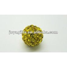 Bola de cristal de la arcilla del shamballa, granos del shamballa