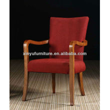 modern wooden hotel guest room table and chair XY460