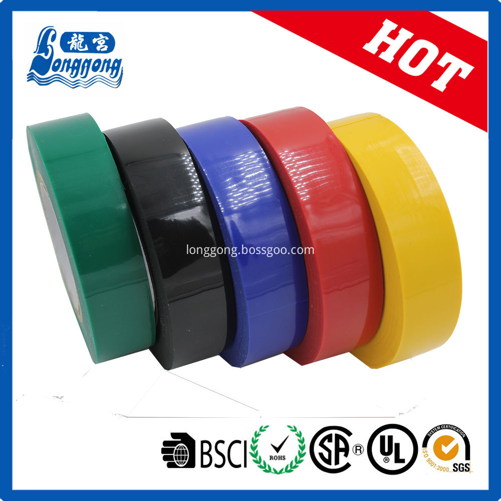 Best quality Shiny PVC Electrical Tape