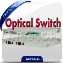 Commutateur de protection fibre optique 1X4