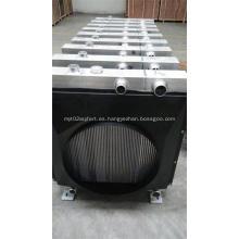 Radiadores de aluminio para cosechadora