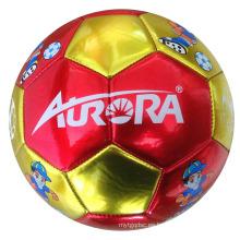 Tamaño 2 máquina cosida de PVC de juguete de fútbol