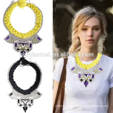 2017 Stylish and popular necklace fashion accessories Fashionable environmental diamond necklace