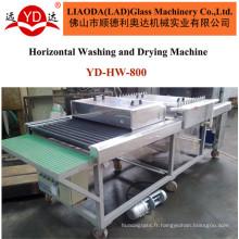 Verre verre de machines de lavage et de séchage Machine de nettoyage