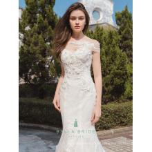 Reizvolles Hochzeitskleid bilder Brauthochzeitskleidfischschwanzkristallhochzeitskleider