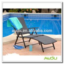 Audu Silla plegable al aire libre de la piscina de la silla de la playa