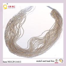 Fils de 2,5 mm Perle de riz blanc forme perdre qualité Pearl