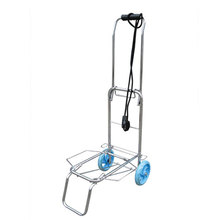 Chariot de bagages en acier inoxydable