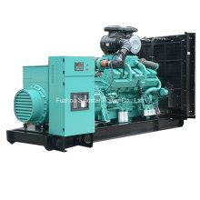 Grupo de gerador diesel de 1200 Kw 1500 kVA CUMMINS com Kta50-GS8