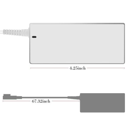 60W 16.5V 3.65A Apple Macbook Magsafe1 / 2