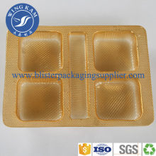 Assurance sûre Green Environmental Protection Plastic Tray