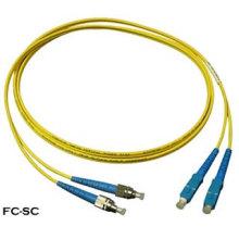 Cordon de raccordement fibre optique FC-Sc