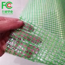 Plastique d'échafaudage en poly bâche tissée en HDPE