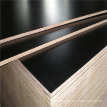 Waterproof Glue 12mm 15mm 18mm Poplar or Hardwood Core Brown or Black Color Marine Plywood for Construction