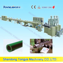 PP-R-Bq 3 Layers Glass Fiber Reinforced PLC Control Pipe Extrusion Line