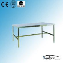 Edelstahl-Arbeitstisch für Verpackung (S-6)