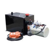 Unidad de energía hidráulica de 12v dc para remolque volquete
