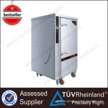 Heißer Verkauf Küche Ausrüstung 1 Tür 12-fach Elektrischer Dampfer Industrielle Dampfgarer