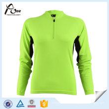 Vêtements de cyclisme en jersey de haute qualité personnalisés pour les femmes