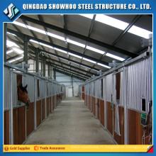 structure en acier structure de hangar à cheval