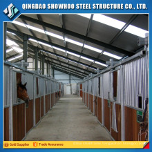 Low Cost Steel Structure Prefabricated Barn Horse Stable