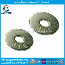 JIS B 1256 SS316 Arandelas planas grandes / Arandelas cuadradas galvanizadas