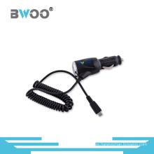 Adaptador de cargador de coche universal colorido de gran venta con cable