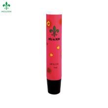 section oblique rouge à lèvres baume en plastique tube d'emballage