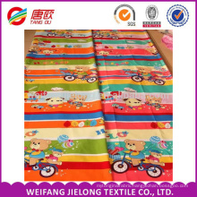 Ride the bear cartoon printing for cotton bedding fabric sale