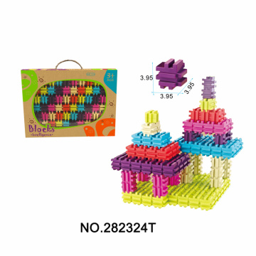 60PCS Solid Blocks Gift for Boys Girls