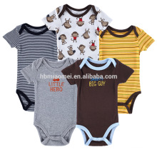 100 % Cotton infant unisex knitted romper newborn baby jumpsuit