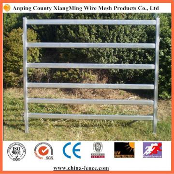 Clôture de ferme d'élevage galvanisée portative en acier