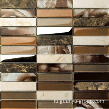 Polished Surface Mixed Marble Mosaic