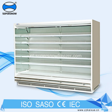 Dairy Glass Wall Display gekoelde vitrine