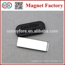 Name Abzeichen Magnet Hersteller china