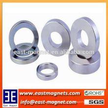 Ring Stark gesinterte Neodym NdFeB Magneten N35 OD20 x ID12.5 x 3mm / kundenspezifischer Ringmagnet