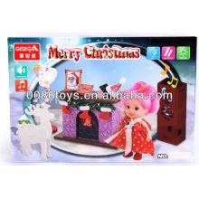 Рождественские Анимированные Музыкальные Игрушки Рождественский Пункт Рождества