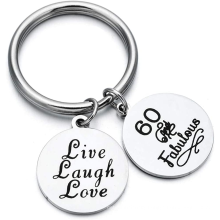 Innovative Hot Custom Promotion Gift Metal Letters Stainless Steel Personalized ID Key Chain