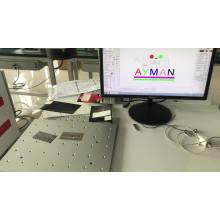 white/black/color fiber laser marking machine price /fiber laser engraver/laser marker on metal